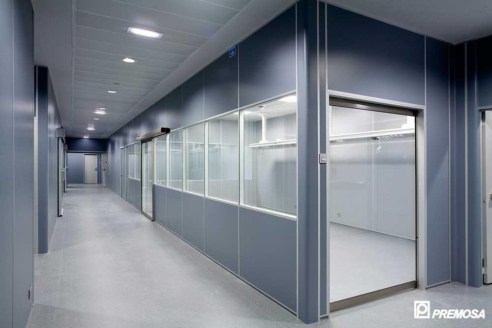 Sistem de compartimentare interioara modulara demontabila PREMO - Poza 2