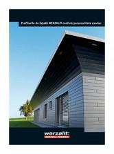 Profile compozite pentru fatade ventilate WERZALIT