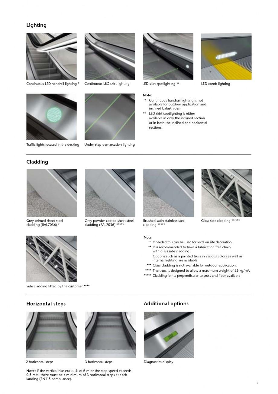 catalog brosura scari rulante transitmaster 150 kone