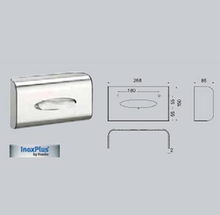 Dispenser de batiste de hartie FRANKE - Poza 10