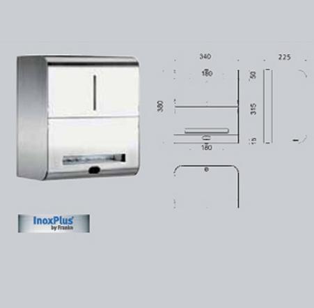 Dispenser de prosoape de hartie, cu senzor FRANKE - Poza 12