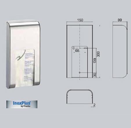 Dispenser de pungi igienice Lucy FRANKE - Poza 14