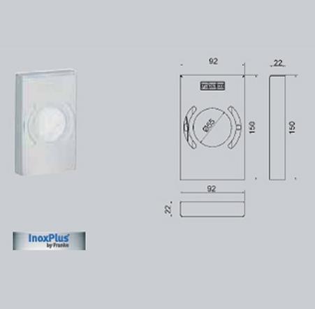 Dispenser de pungi igienice FRANKE - Poza 15