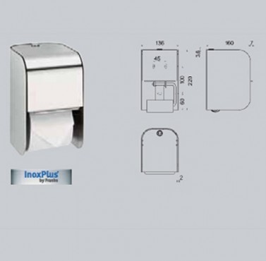 Suport pentru 2 role de hartie igienica FRANKE - Poza 36