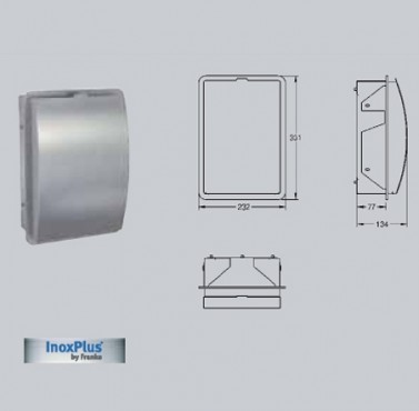 Cos de gunoi pentru pungi igienice, cu montai ingropat FRANKE - Poza 6
