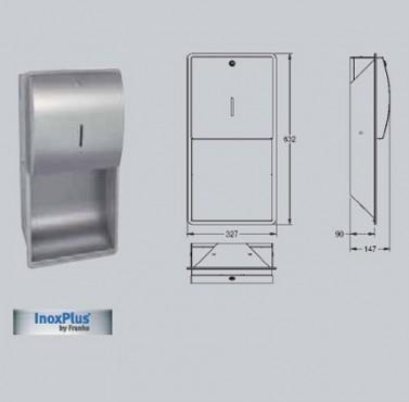 Dispenser de prosoape de hartie cu montaj ingropat FRANKE - Poza 15