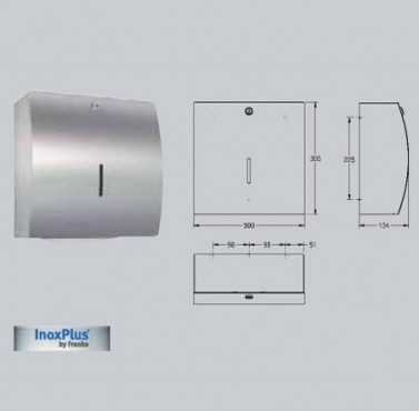 Dispenser de prosoape de hartie, montare pe perete FRANKE - Poza 16