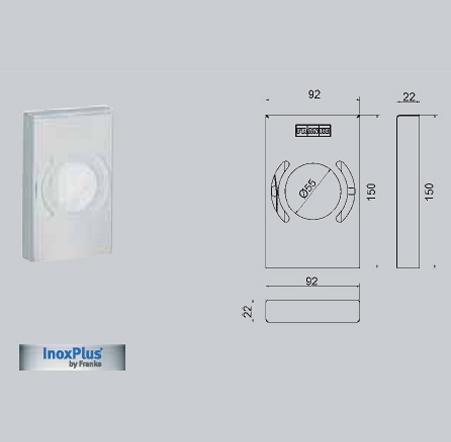Dispenser de pungi igienice FRANKE - Poza 18