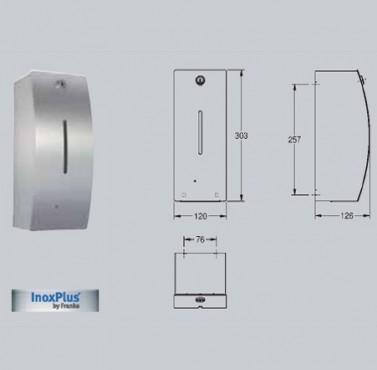 Dozator electronic de sapun, montare pe perete FRANKE - Poza 24