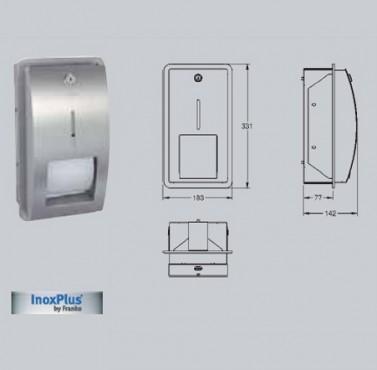 Suport pentru 2 role de hartie igienica cu sistem de blocare cu montaj ingropat FRANKE - Poza 28