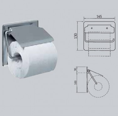 Suport pentru hartie igienica FRANKE - Poza 34
