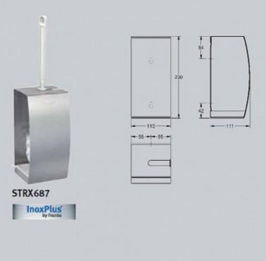 Suport pentru perie WC, cu montare pe perete FRANKE - Poza 35