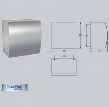 Uscator electronic de maini cu aer cald, montare pe perete FRANKE - Poza 38