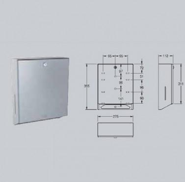 Dispenser de prosoape de hartie, montare pe perete FRANKE - Poza 7