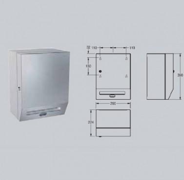 Dispenser electronic prosoape de hartie, montare pe perete FRANKE - Poza 8