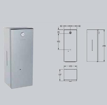 Dozator electronic de sapun si de solutie dezinfectanta,montare pe perete FRANKE - Poza 14