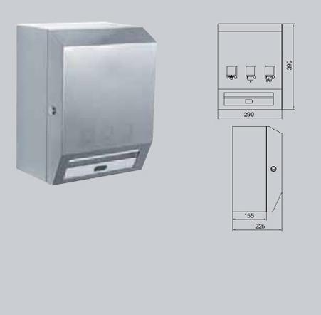 Dispenser de prosoape de hartie cu senzor FRANKE - Poza 13