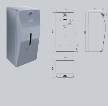 Dozator de sapun si de solutie dezinfectanta, cu senzor FRANKE - Poza 17