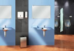 Accesorii baie, grupuri sanitare Produsele pentru toalete XINOX raman curate si fara depuneri de calcar datorita tehnicii de tratare a suprafetelor InoxPlusR. Particule microscopice se imbina cu moleculele de la suprafata materialului pentru a corecta imperfectiunile care nu sunt vizibile cu ochiul liber. Structura foarte fina care rezulta face ca amprentele sa fie mai putin vizibile.