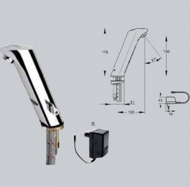 Baterii si robineti cu actionare electronica FRANKE - Poza 7
