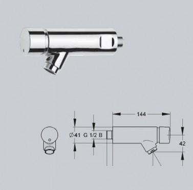 Baterii si robineti cu inchidere hidraulica FRANKE - Poza 2
