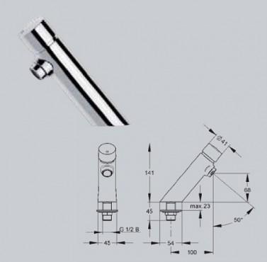 Baterii si robineti cu inchidere hidraulica FRANKE - Poza 3