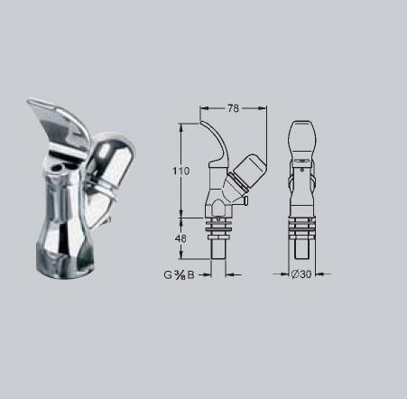 Baterii si robineti cu inchidere hidraulica FRANKE - Poza 16