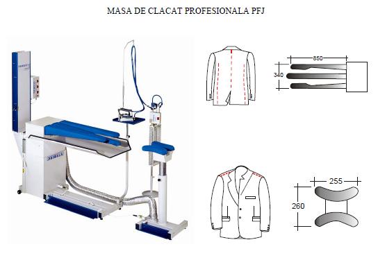 Mese de calcat profesionale PRIMULA - Poza 5