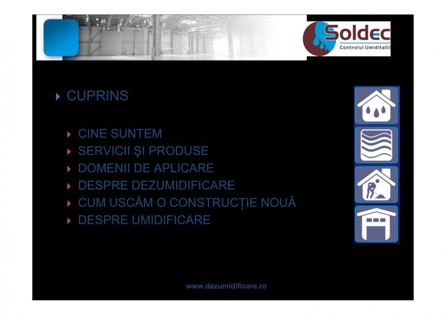 Pagina 3 - Prezentare companie SOLDEC WOODS AUSTRIA Catalog, brosura Romana  colectată în...