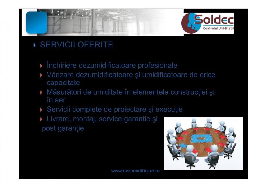 Pagina 5 - Prezentare companie SOLDEC WOODS AUSTRIA Catalog, brosura Romana    Temperatura...