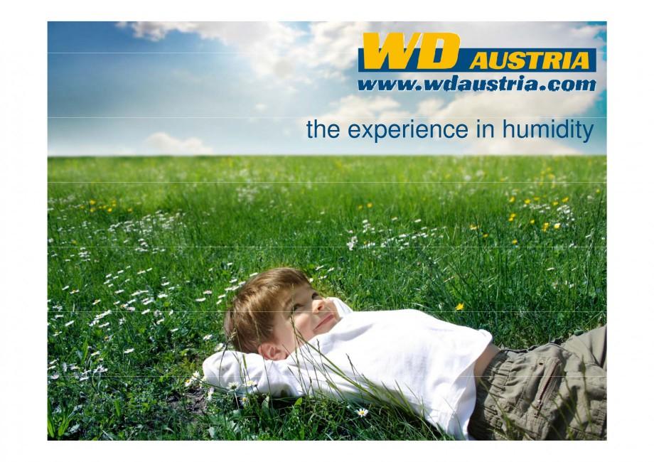Pagina 1 - Prezentare - WD Austria WOODS AUSTRIA Catalog, brosura Engleza the experience in...