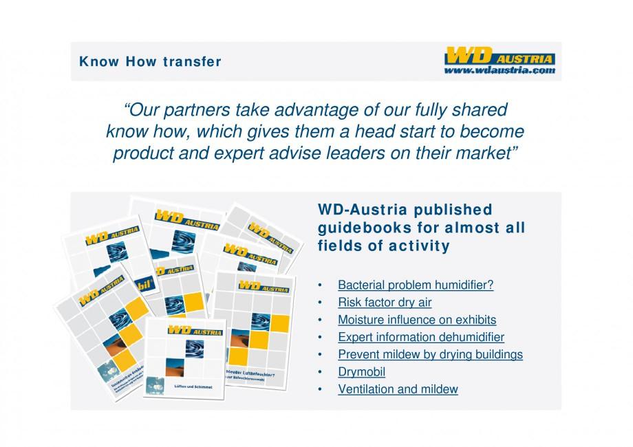 Pagina 33 - Prezentare - WD Austria WOODS AUSTRIA Catalog, brosura Engleza