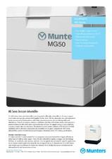 Dezumidificatoare cu rotor gama MG MUNTERS ITALIA
