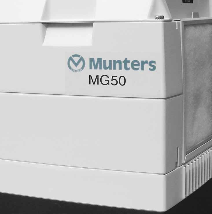 Dezumidificator cu rotor MG50 MUNTERS ITALIA - Poza 2