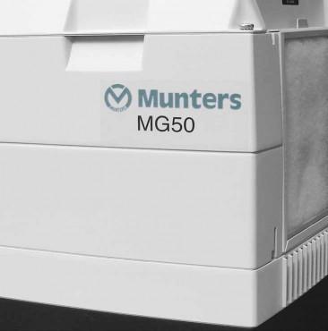 Prezentare produs Dezumidificator cu rotor MG50 MUNTERS ITALIA - Poza 2