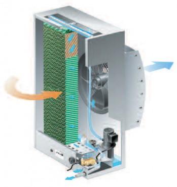 Prezentare produs Aparate de umidificare aer  MUNTERS ITALIA - Poza 2