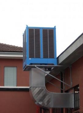 Prezentare produs Umidificator adiabatic FCX MUNTERS ITALIA - Poza 8