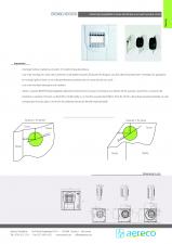 Montaj pentru grila cu senzor de umiditate sau de prezenta AERECO