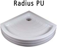 Cadite de dus din materiale turnate - Radius RAVAK - Poza 3