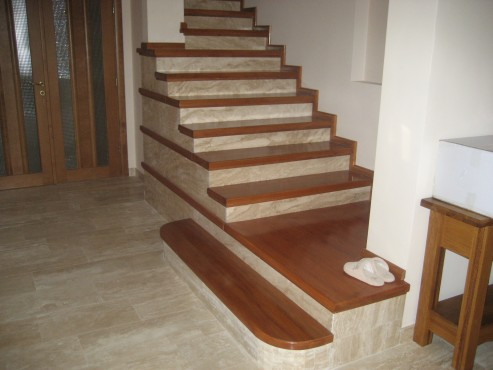 Scari interioare din lemn pe suport de beton BAULAND - Poza 5