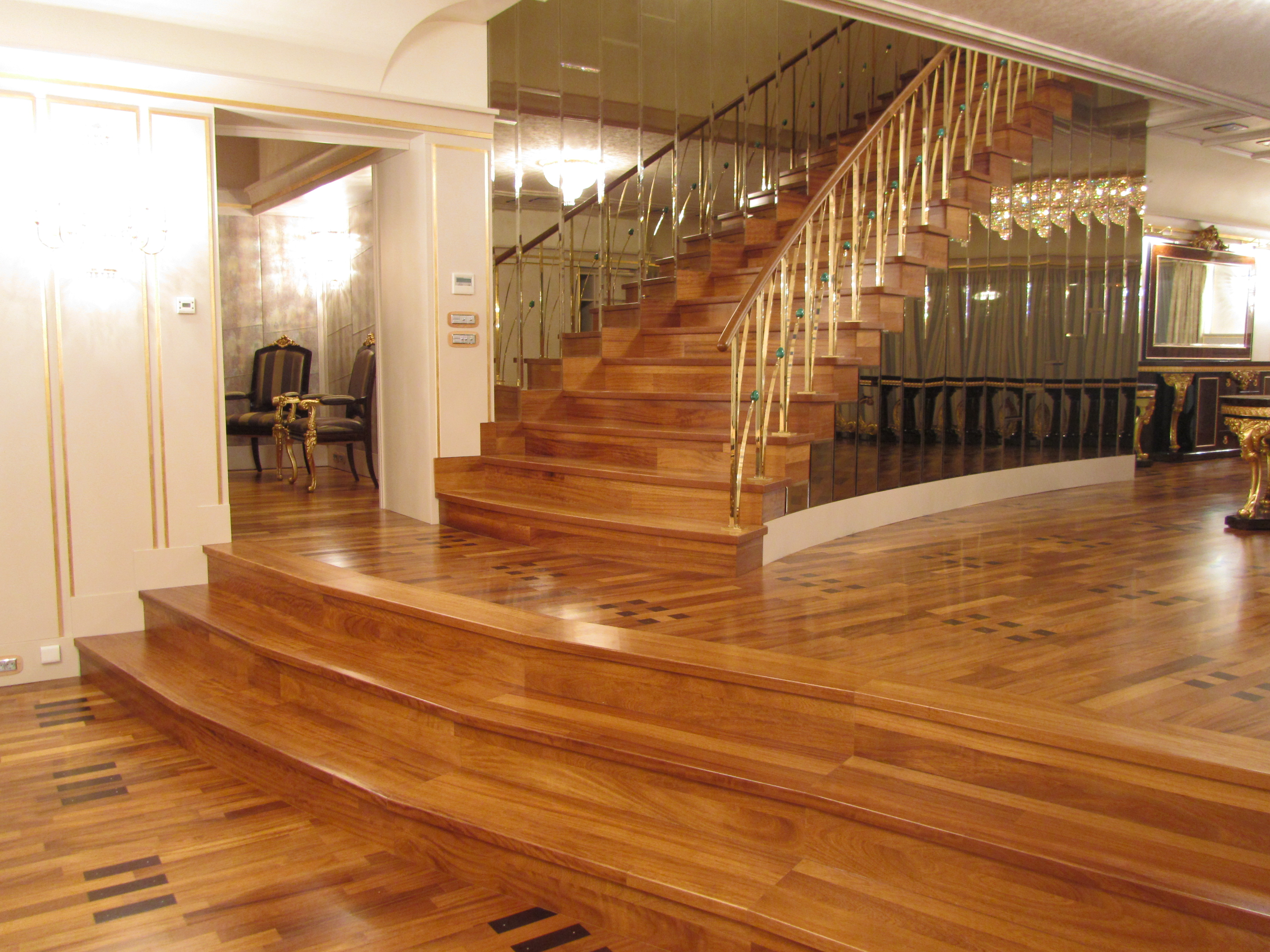 Trepte din lemn BAULAND - Poza 4
