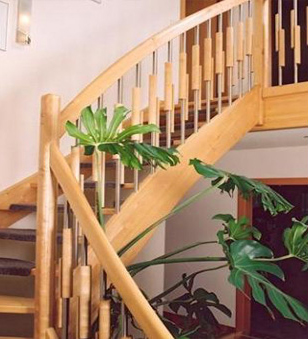 Scari pe structura de lemn BAULAND - Poza 3