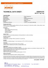 Adeziv pentru profile decorative - ADEFIX P5 NMC