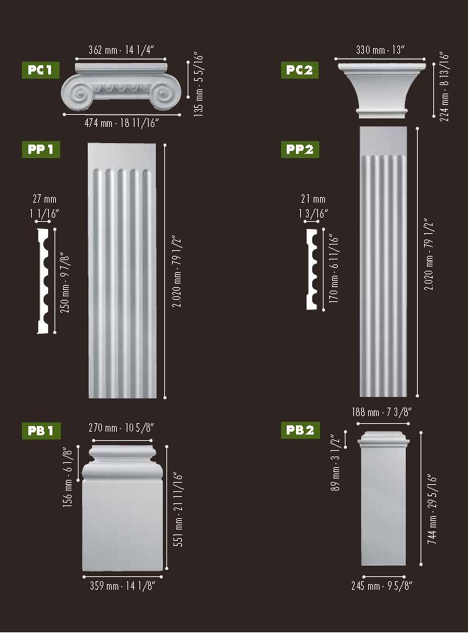 Modele de Coloane decorative si pilastri NMC - Poza 5