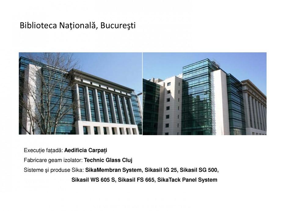 Pagina 6 - Proiecte de referinta - fatade realizate cu solutii Sika in Romania  Lucrari, proiecte...