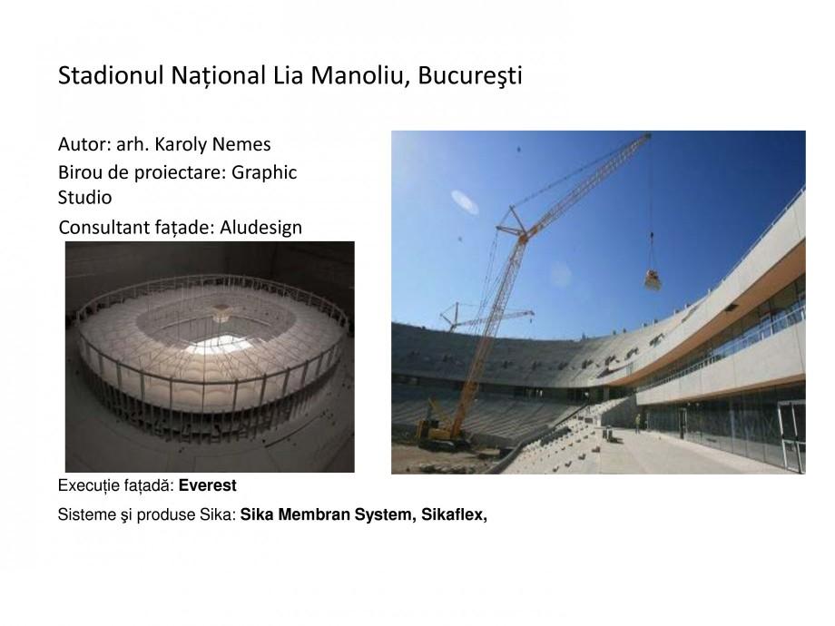 Pagina 8 - Proiecte de referinta - fatade realizate cu solutii Sika in Romania  Lucrari, proiecte...