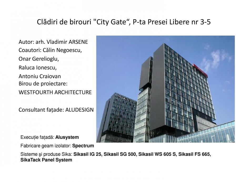 Pagina 11 - Proiecte de referinta - fatade realizate cu solutii Sika in Romania  Lucrari, proiecte...