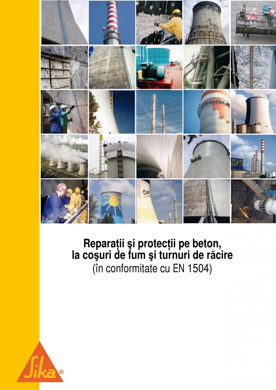 Pagina 1 - Reparatii si protectii pe beton, la cosuri de fum si turnuri de racire SIKA Sika®...