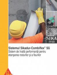 Sistem pentru etansarea rosturilor si a fisurilor - Sikadur-Combiflex