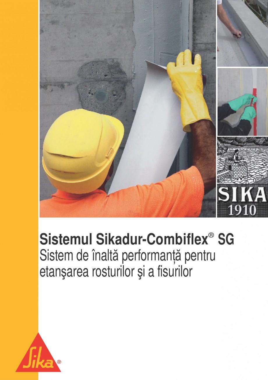 Pagina 1 - Sistem pentru etansarea rosturilor si a fisurilor - Sikadur-Combiflex SIKA Sikadur®...